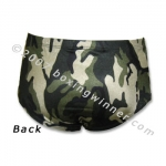 Fight Shorts (MMA/Grappling/Vale Tudo) Back View
