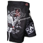 Board Shorts   (MMA/Grappling/Vale Tudo) Side View 2